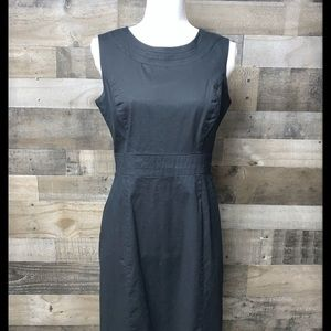 Banana Republic classic black dress size 8